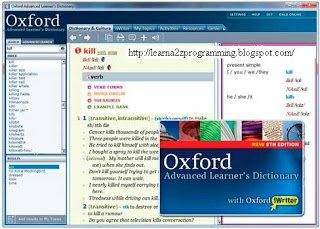 Oxford Advanced Learner's Dictionary 8th Edition ~ Download With Crack
