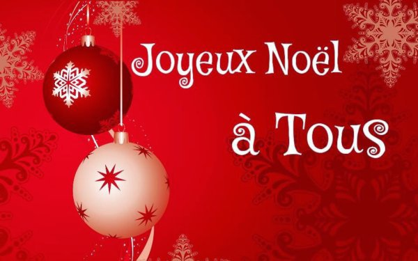 Joyeux Noël , tout le bonheur du monde pour toi,...