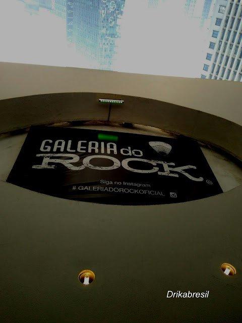 VIAGEM : GALERIA DO ROCK SÃO PAULO SP