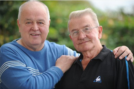 55 happy years for Plymouth couple Ted and Paul