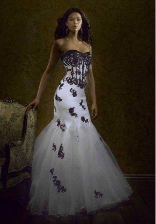 Organza Strapless Sweetheart Mermaid Long Evening Dress - Evening - Fashionweddingdress.co.uk