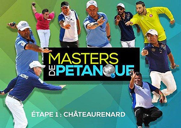 Étape n°1 ce Jeudi à Châteaurenard (13) - Masters de Pétanque - ARTICLES sur la pétanque
