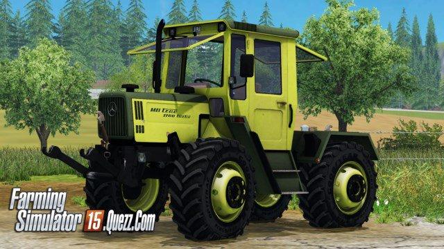 Génial encore un MB Trac 1100 v1.0 ls15 | Farming Simulator 15