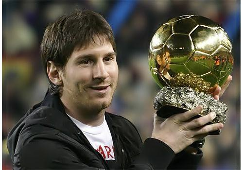 Messi = 4 ballon d'or