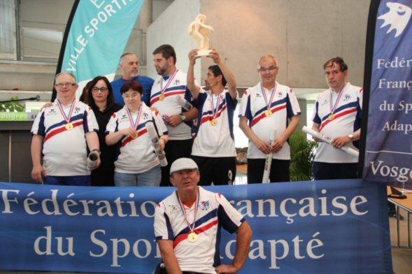 Championnat de France Sport adapté 2016 -