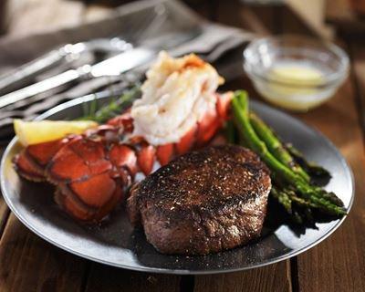 Steak de kangourou aux légumes