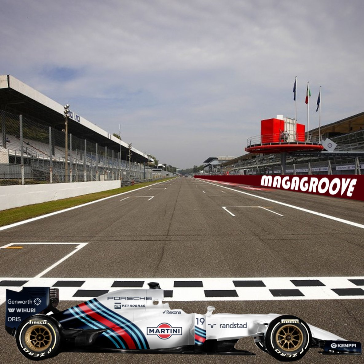 MagaGroove75 & Williams Racing F1 !!