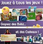 Inscription Prizee - Jouer en ligne et gagner des cadeaux