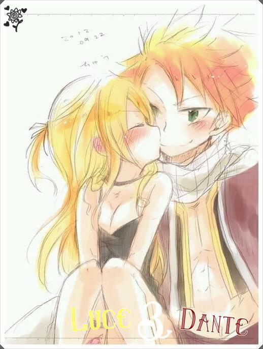 Lucy : c'est pour toi mon Natsu