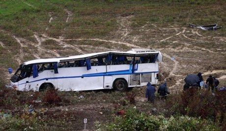 Un bus avec des enfants s'est écrasé dans le sud de la Russie