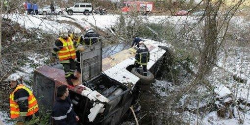 Accident de bus à Aubertin : les enfants repartent vers la Vendée