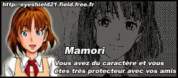 Quiz Result: Quel personnage d'Eyeshield 21 etes-vous ? | Get More Quizzes at Quizilla