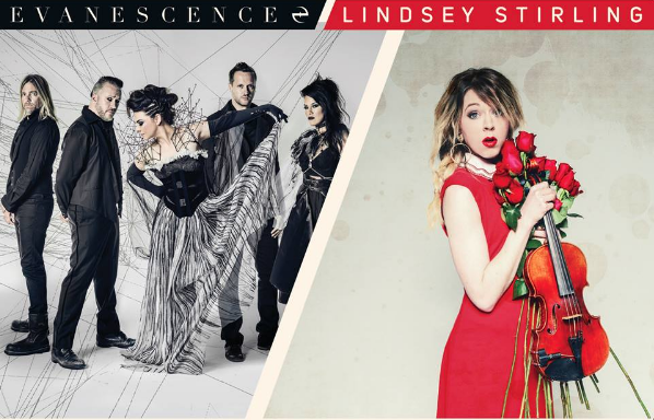 Evanescence Reviews : SummerTour #SynthesisLive With Lindsey Stirling