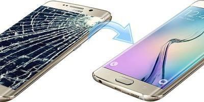 Schimbare Inlocuire Geam Sticla Samsung Galaxy S7 Edge