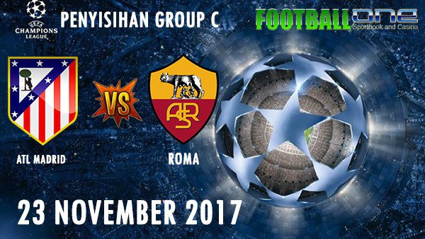 Prediksi ATL. MADRID vs ROMA 23 November 2017