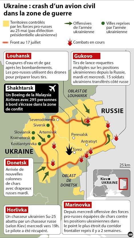 Ukraine : la présence de Français non confirmée dans le crash de l'avion malaisien