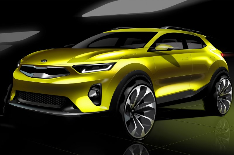 Kia Motors reveals first renderings of its new compact SUV: Kia Stonic