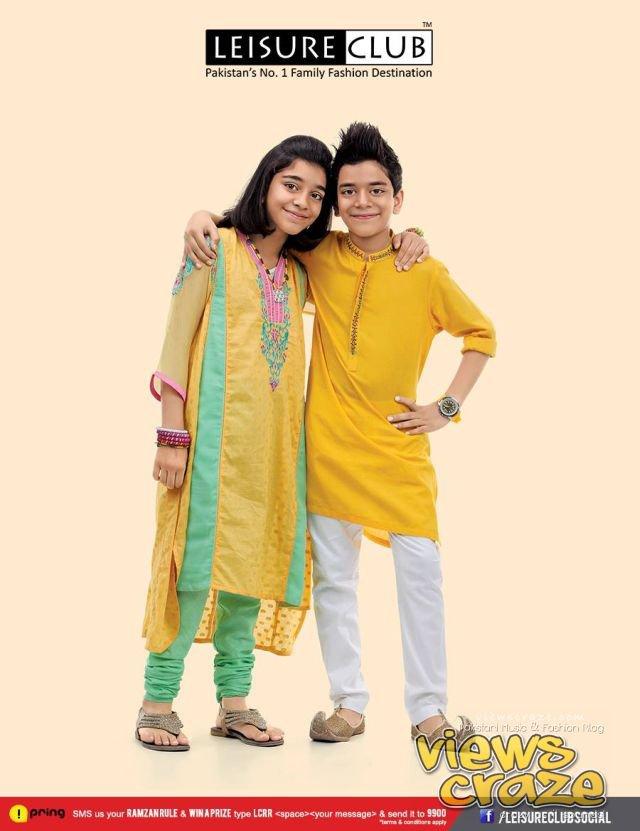 Pakistani Fashion Style: Post 2,, Leisure Club Eid Collection 2013