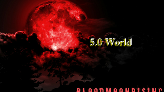 The Earthly World 5.0 - (Red Moon)