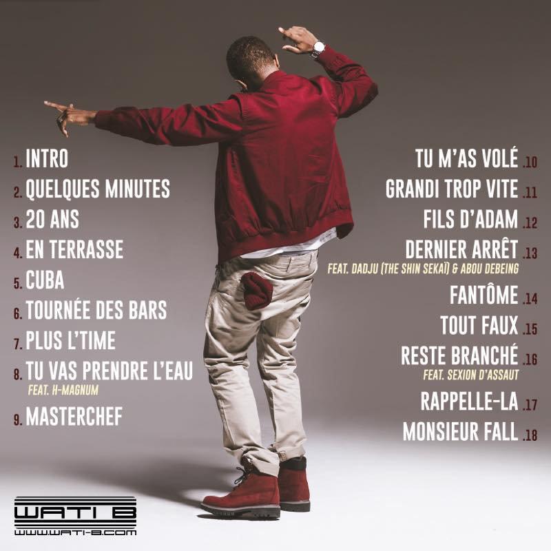 """Découvrez la tracklist de """" Monsieur Fall """" de Lefa"""