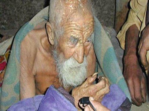 La mort m'a oublié, dit l'homme de 179 ans - Inde