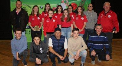 Le Comité départemental olympique et sportif honore les cadets et cadettes
