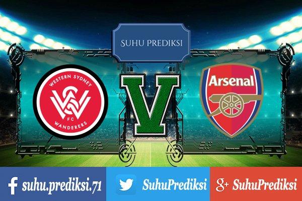 Prediksi Bola Western Sydney Wanderers Vs Arsenal 15 Juli 2017