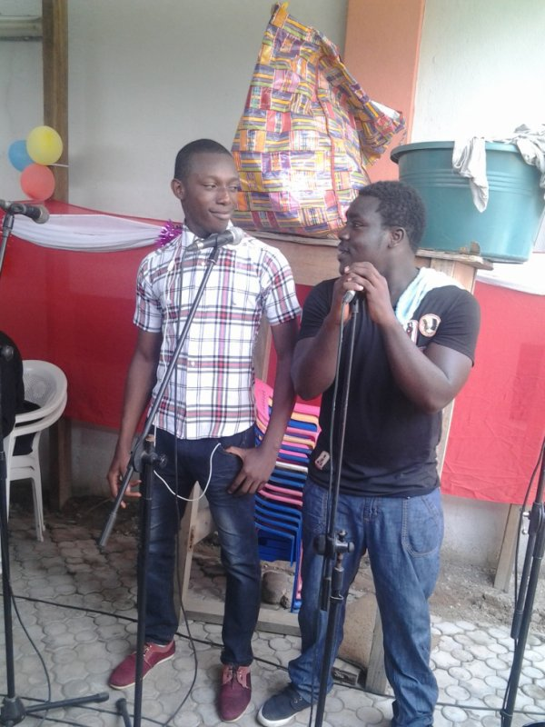 on chante notre joie