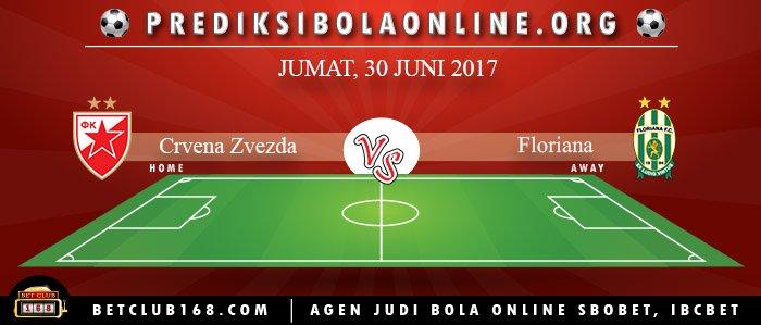 Prediksi Crvena Zvezda Vs Floriana 30 Juni 2017