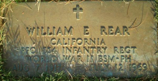 William E Rear (1917 - 1969) - Find A Grave Memorial