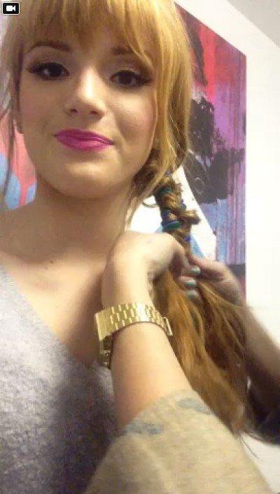 Fishtail and ribbon! #joefreshatjcp