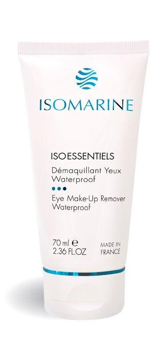 Isomarine, océan de beauté , cosmétique marine, visage et corps, algues, soins et produits gamme cosmétiques marins - DÉMAQUILLANT YEUX WATERPROOF