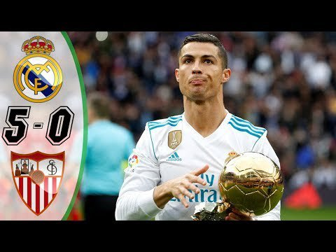 Real Madrid Hajar Sevilla 5-0 Tanpa Balas