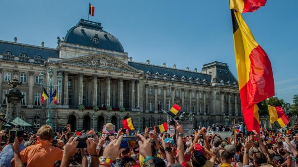 21 juillet, Fête nationale belge. Bonne fête à tous les Belges