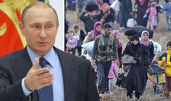 More than 800,000 refugees RETURNING to Syria as Putin OBLITERATES Islamic State
