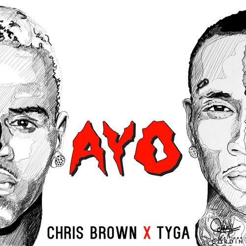 """Chris Brown & Tyga - """"Ayo"""" (issu de Fan of a fan : The Album)"""