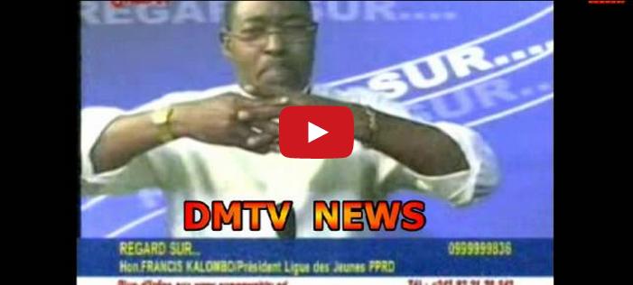 Francis Kalombo se dit prêt à voter pour Olive Lembe, regardez !
