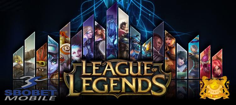 Judi ESports League Of Legend Uang Asli SBOBET Terpercaya
