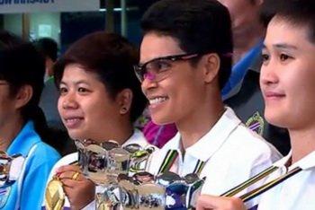 THONGSRI THAMAKORD – La multiple championne du monde thaïlandaise de pétanque rêve de J.O. à Paris