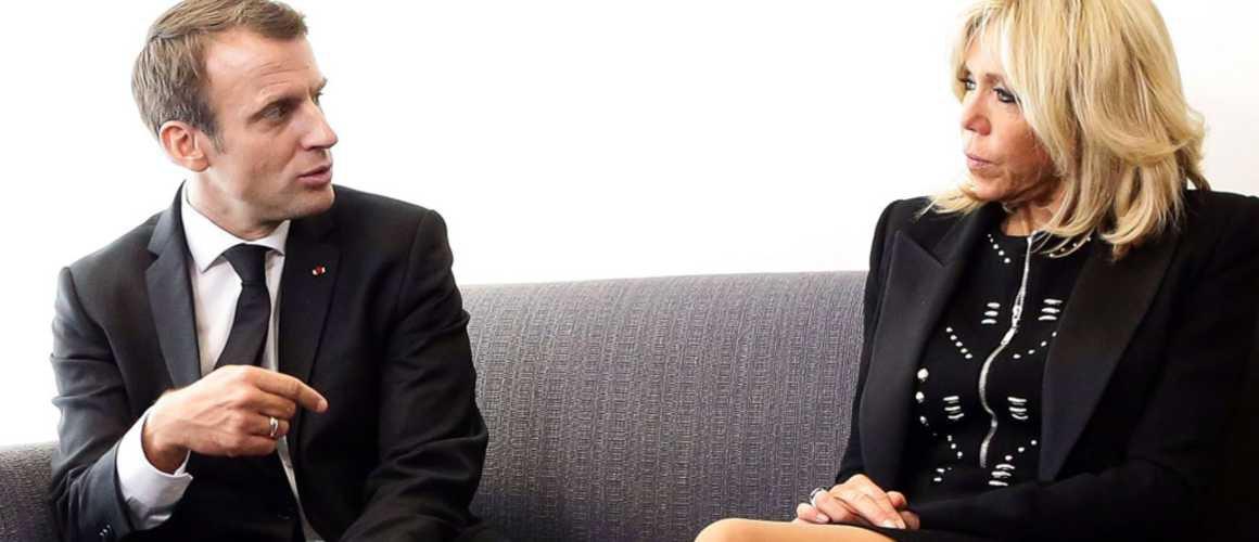 Brigitte et Emmanuel Macron célèbrent leurs dix ans de mariage : où ont-ils passé la journée ?