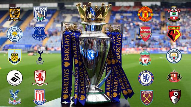 Jadwal Pertandingan Bola Liga Inggris 2016-2017, pekan 3 ...