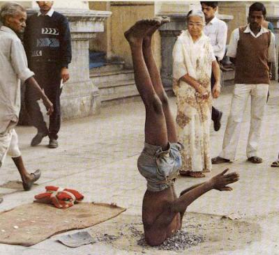أغرب ما يمكن أن تشاهده في الهند : - حالة فريدة