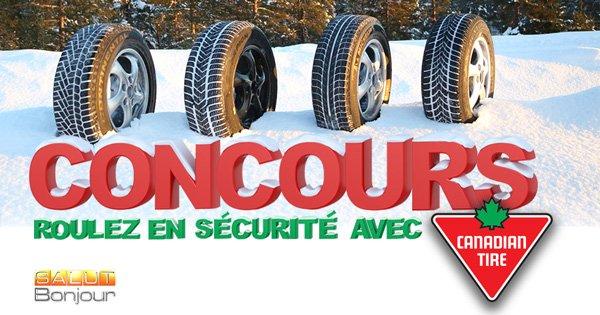Concours Roulez en sécurité avec Canadian Tire
