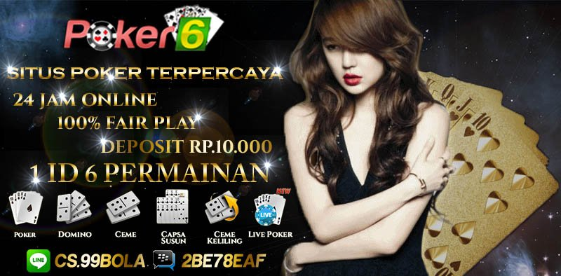 Situs Judi Poker Deposit 10rb Terpercaya