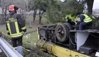 Trois Français tués dans un accident d'autocar en Italie - RTL.fr