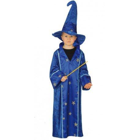 Déguisement magicien garçon Déguisement magicien enfant magicien bleu