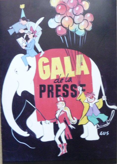Nouveauté à vendre : Programme Gala de la Presse 1984