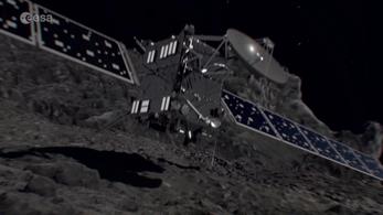 Visualising Rosetta's descent