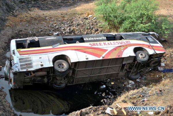 Trente-deux morts dans un accident de la route en Inde
