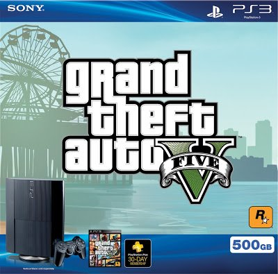 PS3 500 GB Grand Theft Auto V Bundle | The Best Items